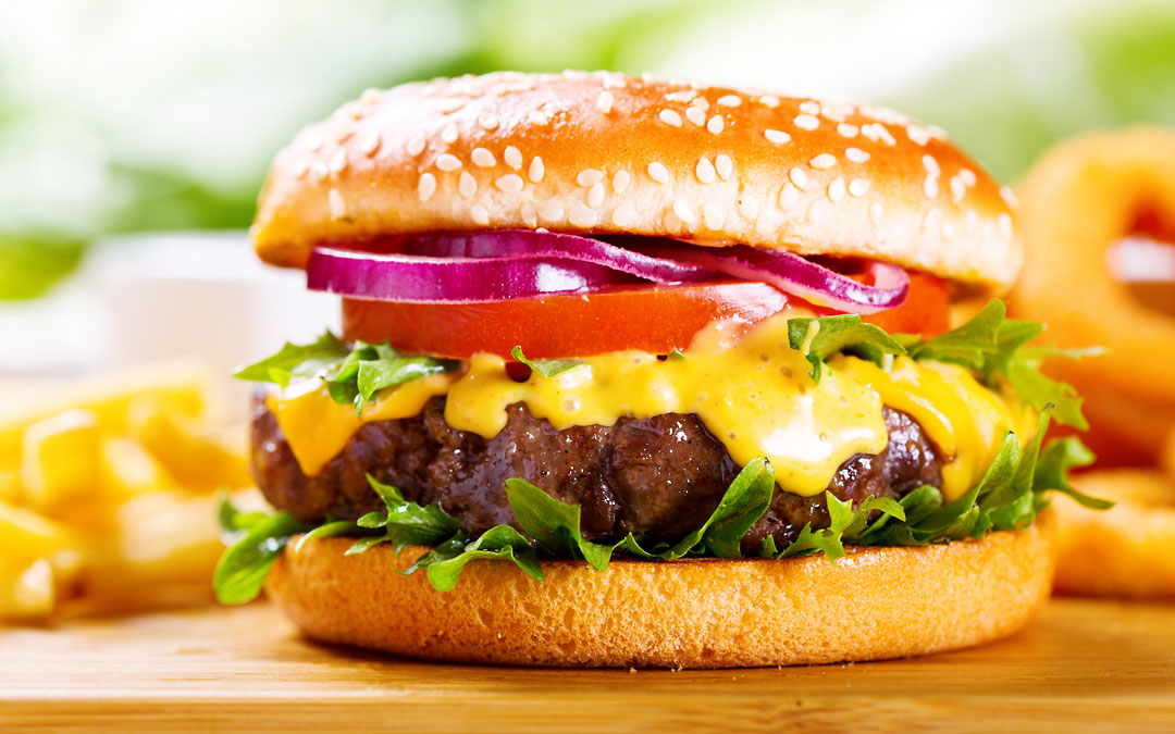 Der perfekte Hamburger