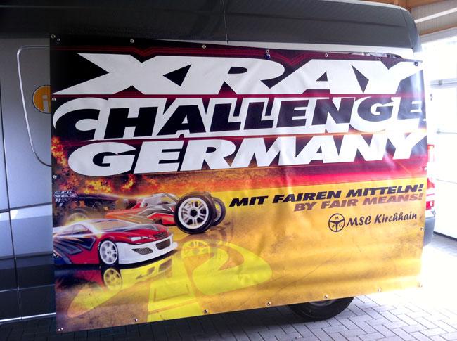 Werbebanner Xray Challenge Germany