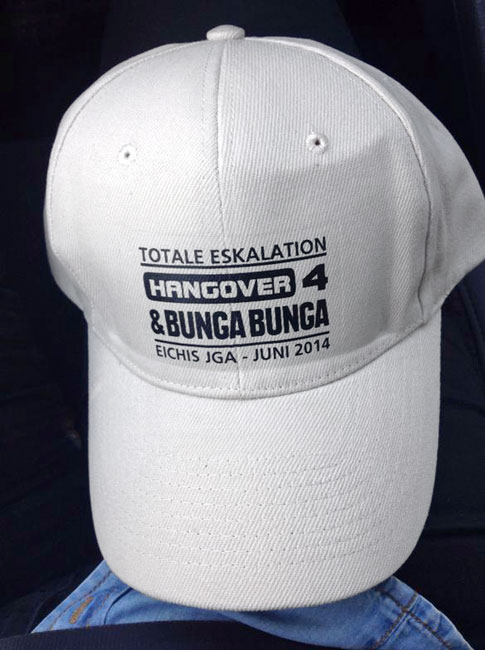 Textildruck Cap